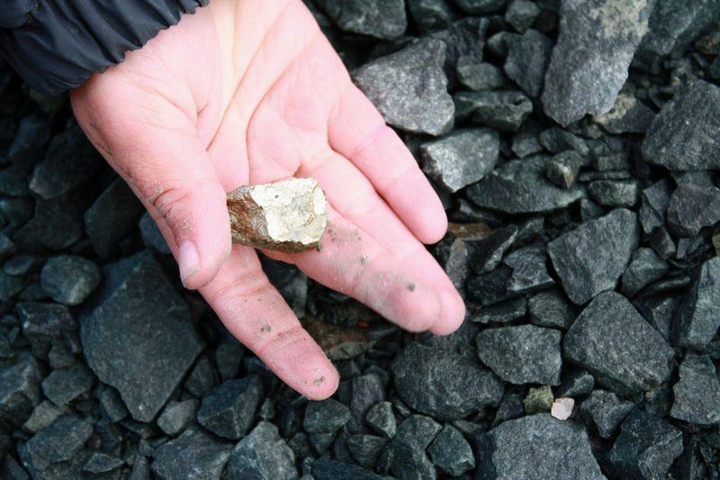 P03 Pyrite found
