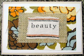 Cassi recycled card