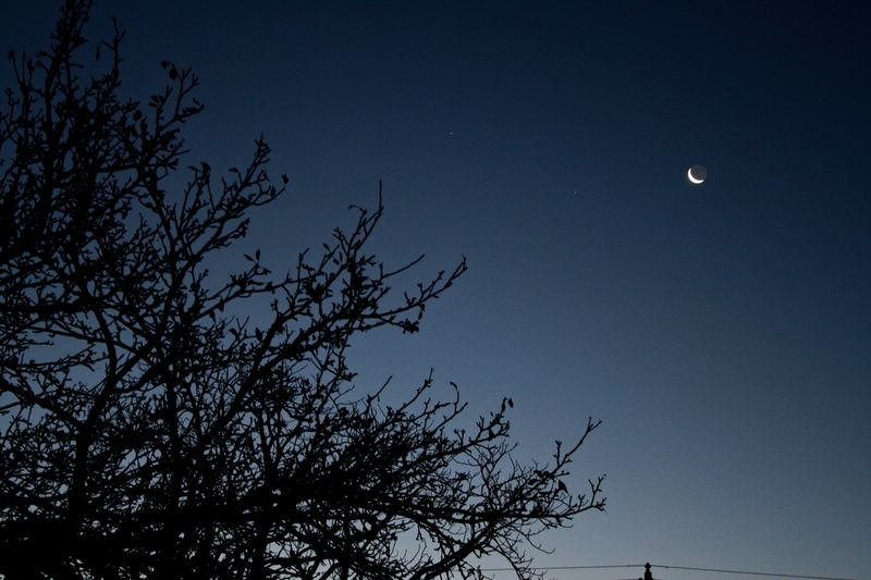 Z Earthshine moon 2